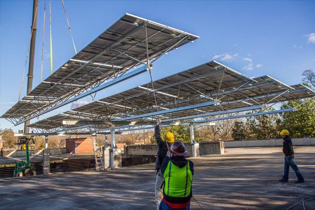 Coperture fotovoltaiche parcheggi